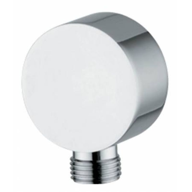 image for AB2420 Abode Circular Wall Outlet in Chrome