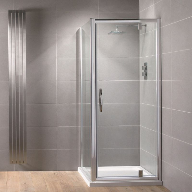 image for AQ8226S Aquadart Venturi 8 760mm Pivot Shower Door