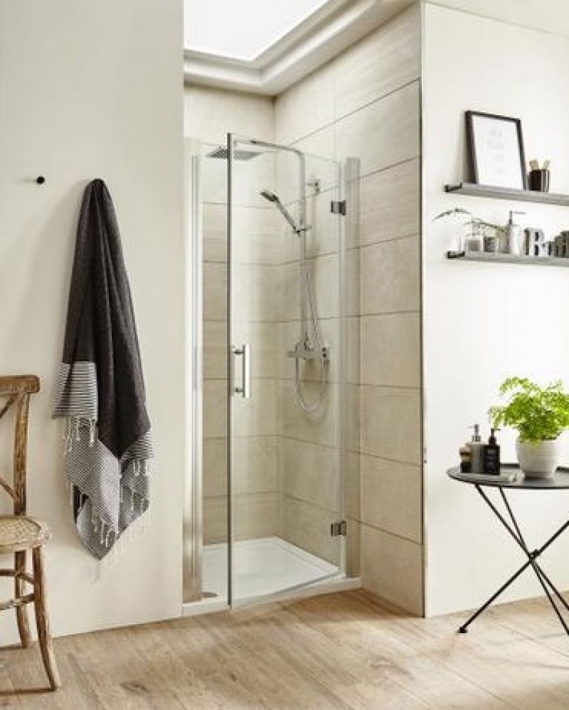 image for AQHD80 Premier Pacific 800mm Hinged Shower Door