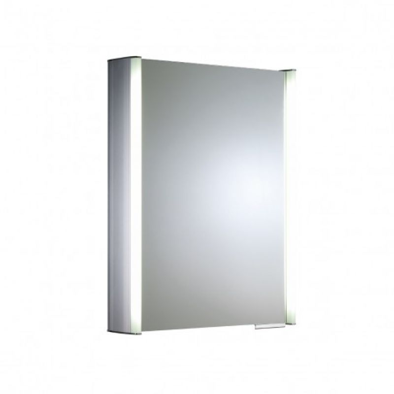image for AS515ALIL Roper Rhodes Plateau 1 Door  544W X 700H X 135mm D Illuminated Mirror Glass Door Cabinet