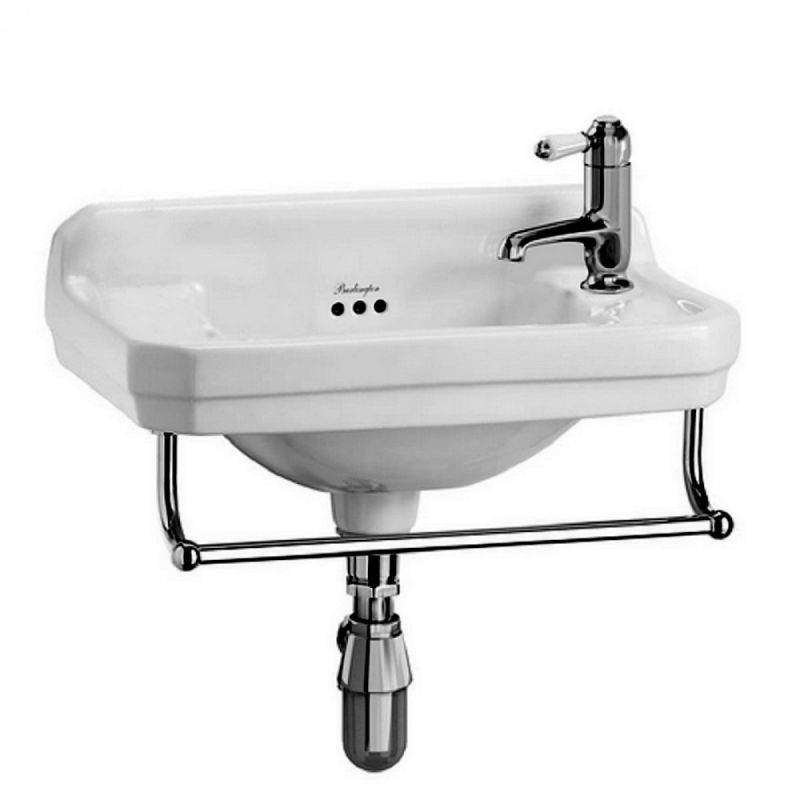image for B8R Burlington Edwardian Cloakroom Wall Mounted 1th Rh Basin