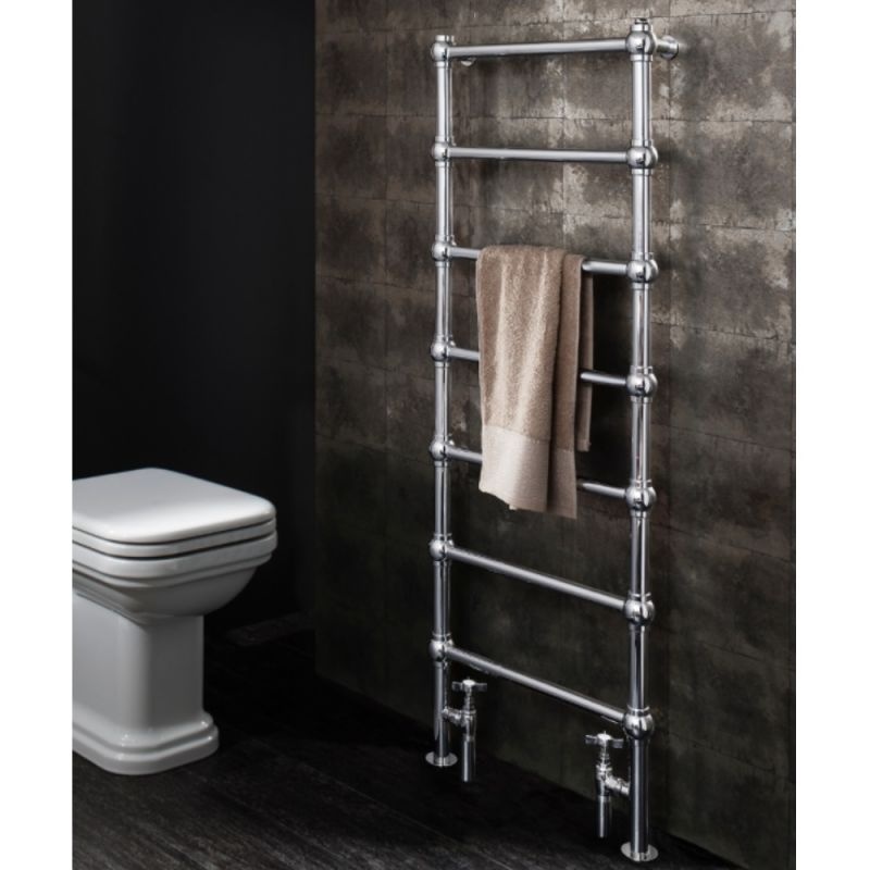 image for BE50X134C Bauhaus Belle 505 X 1340mm Traditional Towel Radiator