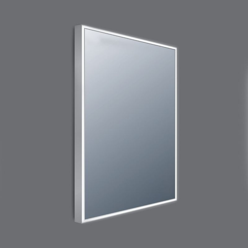 image for BEMDL-03B Frontline Line AluminiumFramed 600mm LED Mirror with Touch Sensor and Demister