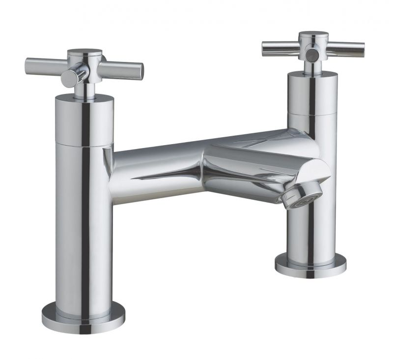 image for BIQFX02 Frontline Fusion X Deck Mounted Bath Filler Tap