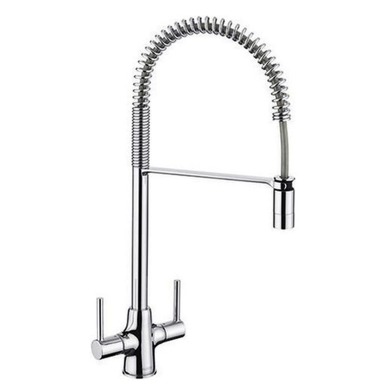 image for BM3137CH Blanco Pull Out Kitchen Tap Archpro Chrome Coil