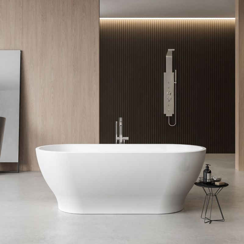 image for CE11042 Charlotte Edwards Contemporary Elara 1700x750mm Freestanding Bath