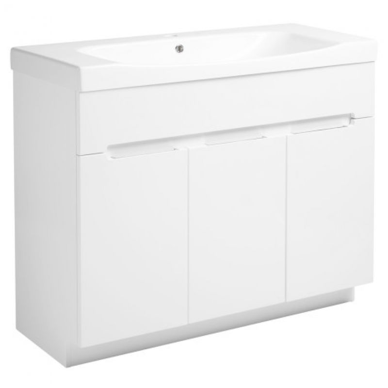 image for DIV10FW Roper Rhodes Diverge 1000mm  Floor Standing Vanity Unit Painted White