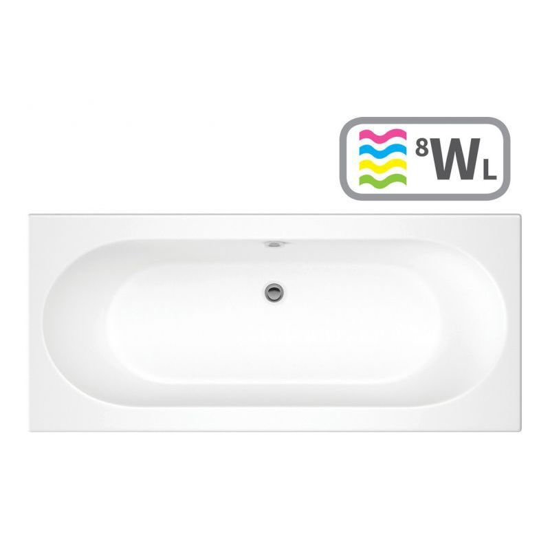 image for DIWL0794 Cascade SUPERCAST Double End 1700x700 0TH Bath & Whirlpool System w/LE