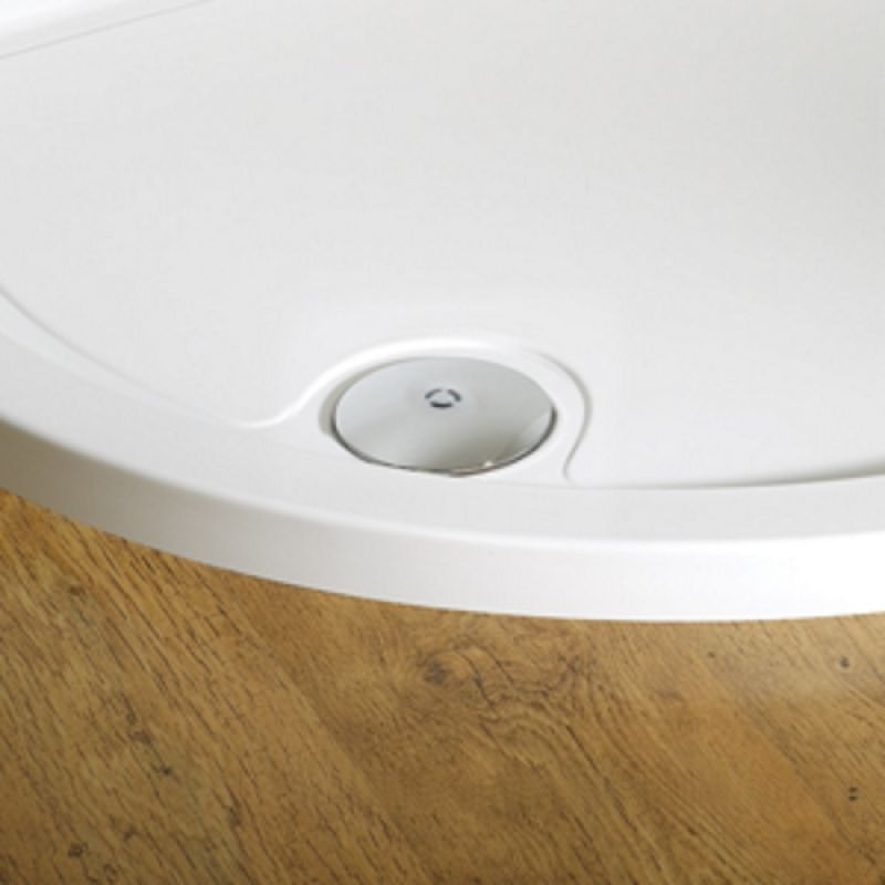 image for DWA90S1 Kudos Original 90mm Shower Tray Waste And Trap