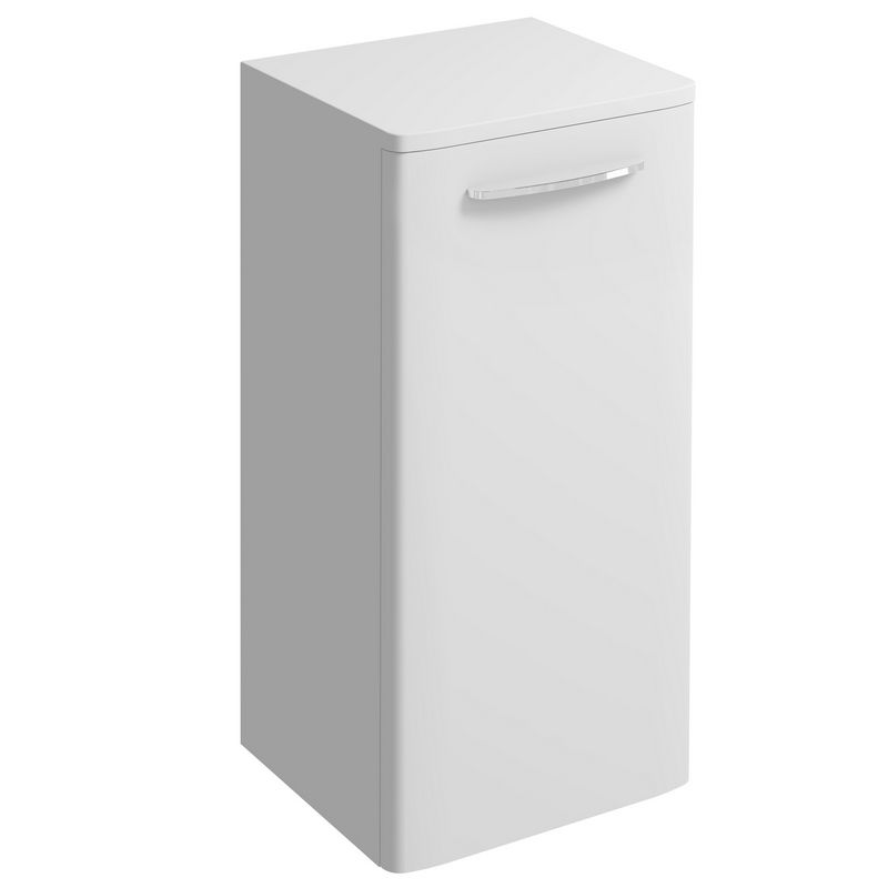 image for E10371WH Twyford E100 330 X 655mm Bathroom Storage Furniture Unit White Gloss
