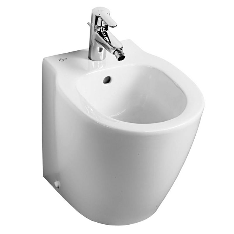 image for E120901 Ideal Standard Concept Space Compact Floorstanding Back To Wall Bidet
