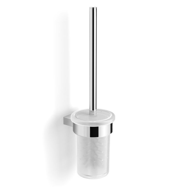 image for EA28025 Essential Urban Toilet Brush And Glass Holder