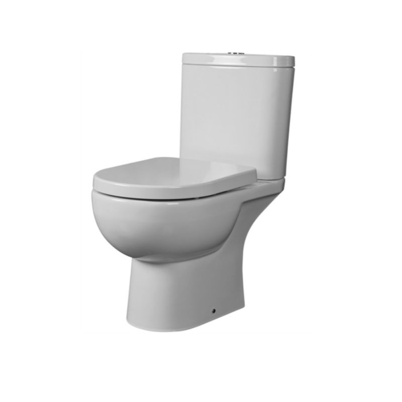image for EC1003 Essential Lily Close Coupled Toilet Pan And Cistern