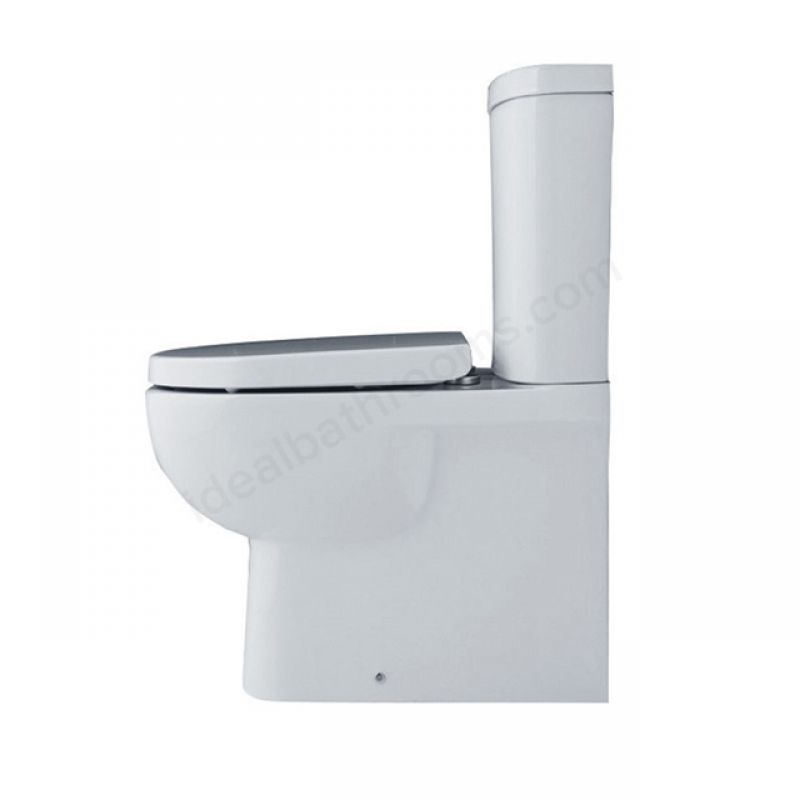 image for EC1009 Essential Lily Close Coupled Back To Wall Toilet Pan And Cistern