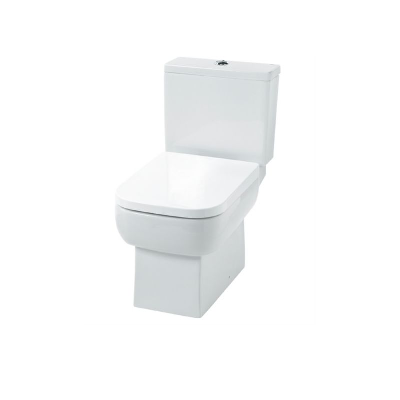 image for EC3003 Essential Orchid Cc Toilet Pan And Cistern With Soft Close Seat