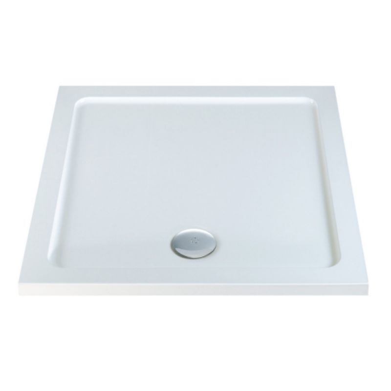 image for EDPMXT8018 800 X 800mm Low Profile Square Shower Tray