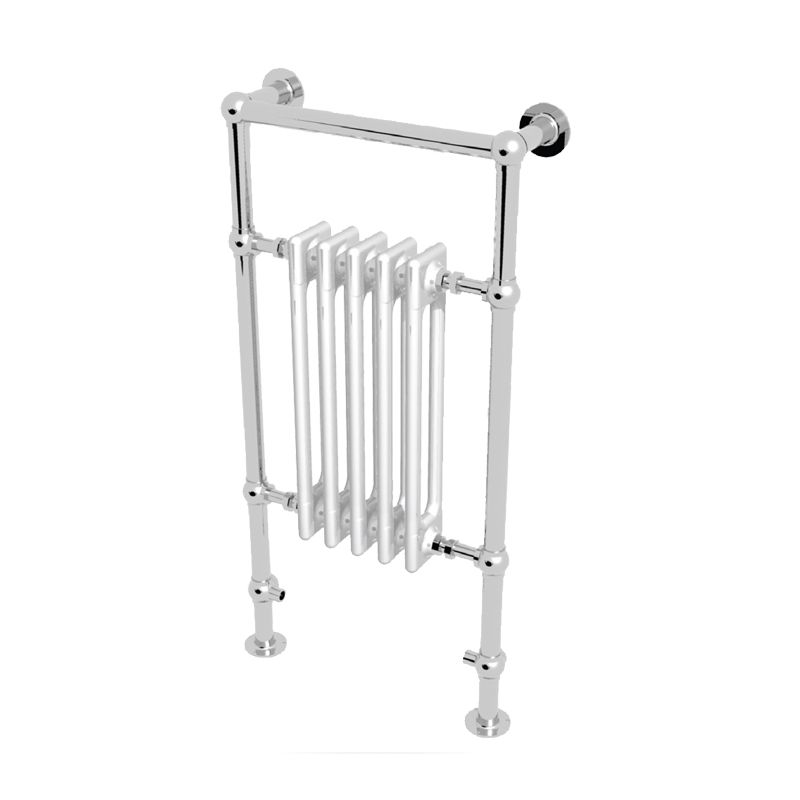 image for ELHS095050CP Abacus Elegance Half Sovereign Chrome 960mm x 500mm Traditional Radiator