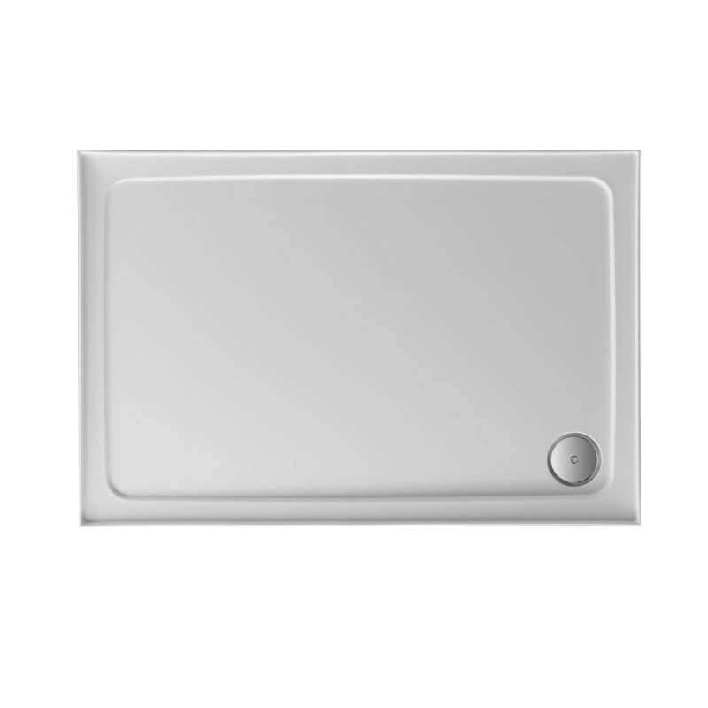 image for F1190100C Jt Fusion 1100 X 900 X 45mm White Rectangular Shower Tray And Waste
