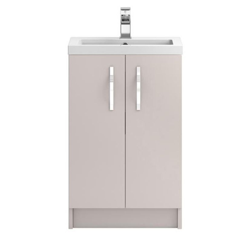 image for FMA724 Hudson Reed Apollo 500mm Cashmere Floor Standing Vanity Unit