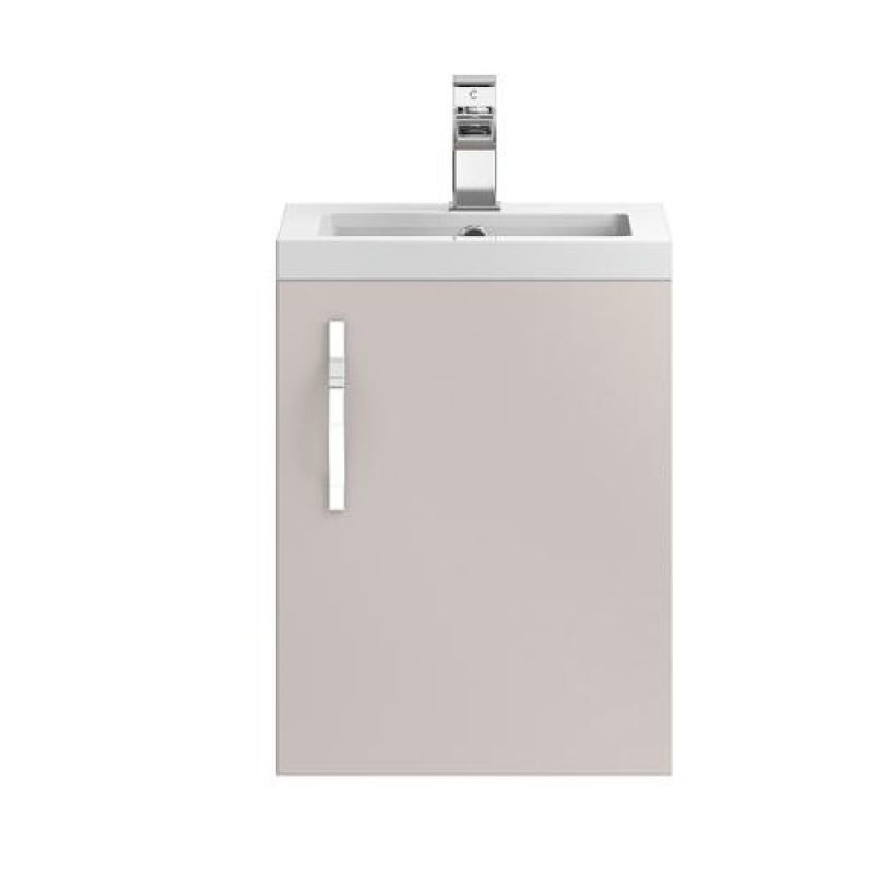 image for FMA732 Hudson Reed Apollo 400mm Cashmere Wall Hung Vanity Unit