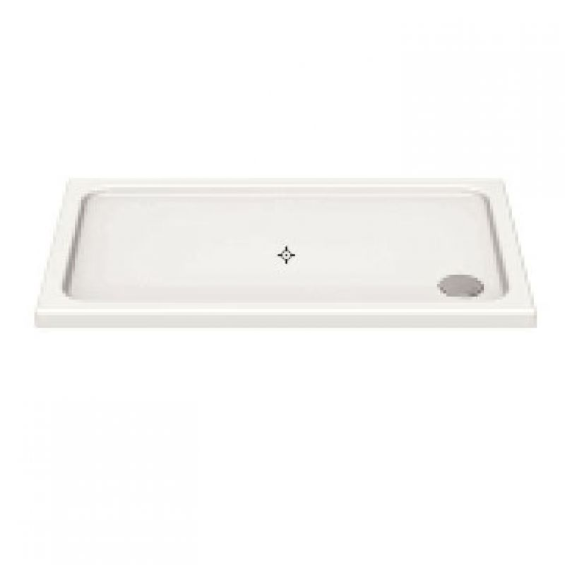 image for KS10076 Kudos Kstone 1000x760mm Rectangular Shower Tray With Corner Waste
