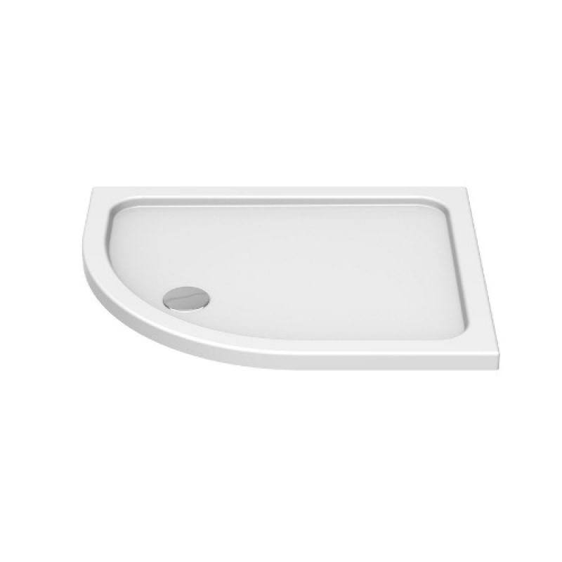 image for KSQ10080RH Kudos KStone 1000mm x 800mm Offset Quadrant Shower Tray Rh