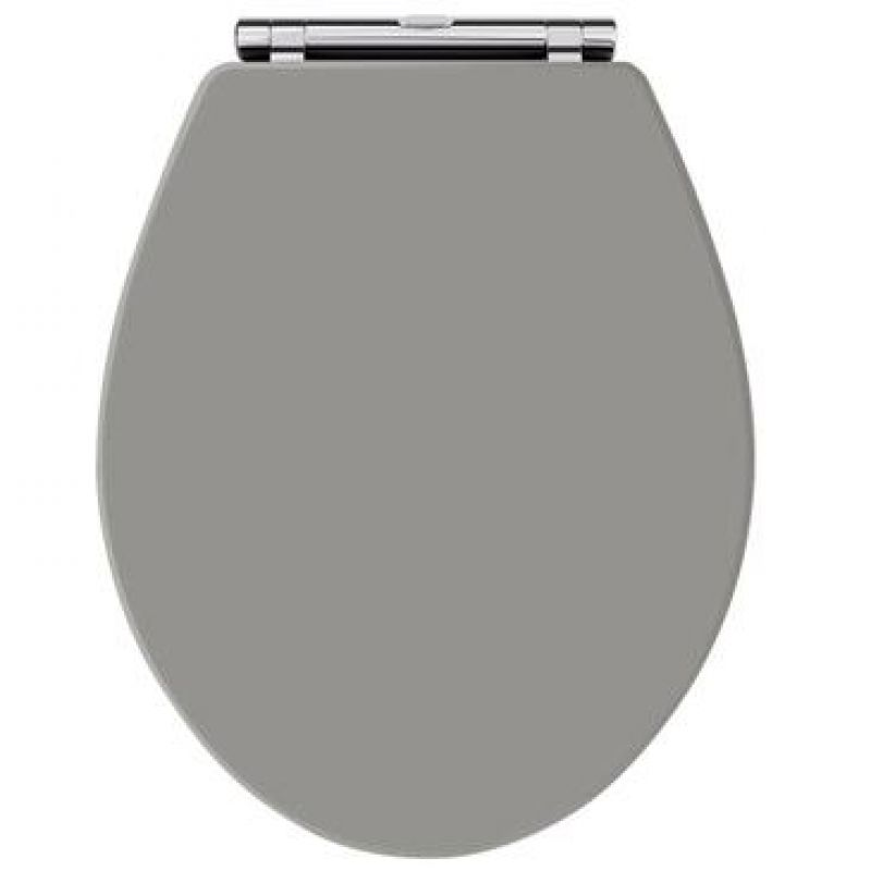image for LOS299 Old London Richmond Soft close Toilet Seat Storm Grey