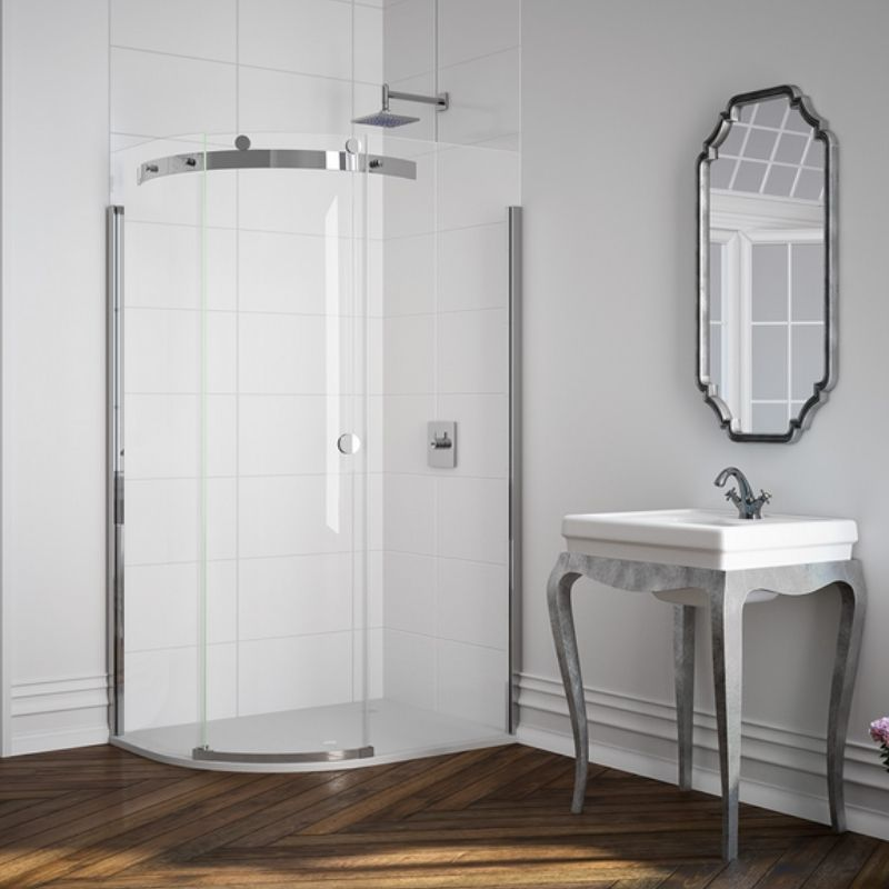 image for M103221CL Merlyn 10 Series 900 X 900 1 Door Quadrant Shower Enclosure Left Hand
