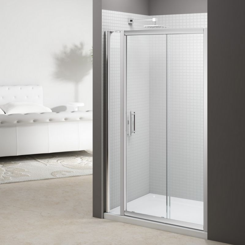 image for M68261P2H Merlyn 6 Series 1715mm Sliding Shower Door With Inline Panel