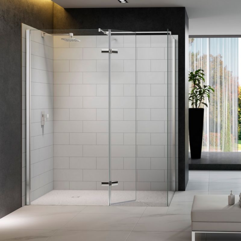 image for M8SWS100H Merlyn 8 Series 1200 X 800 Walk In Shower Enclosure