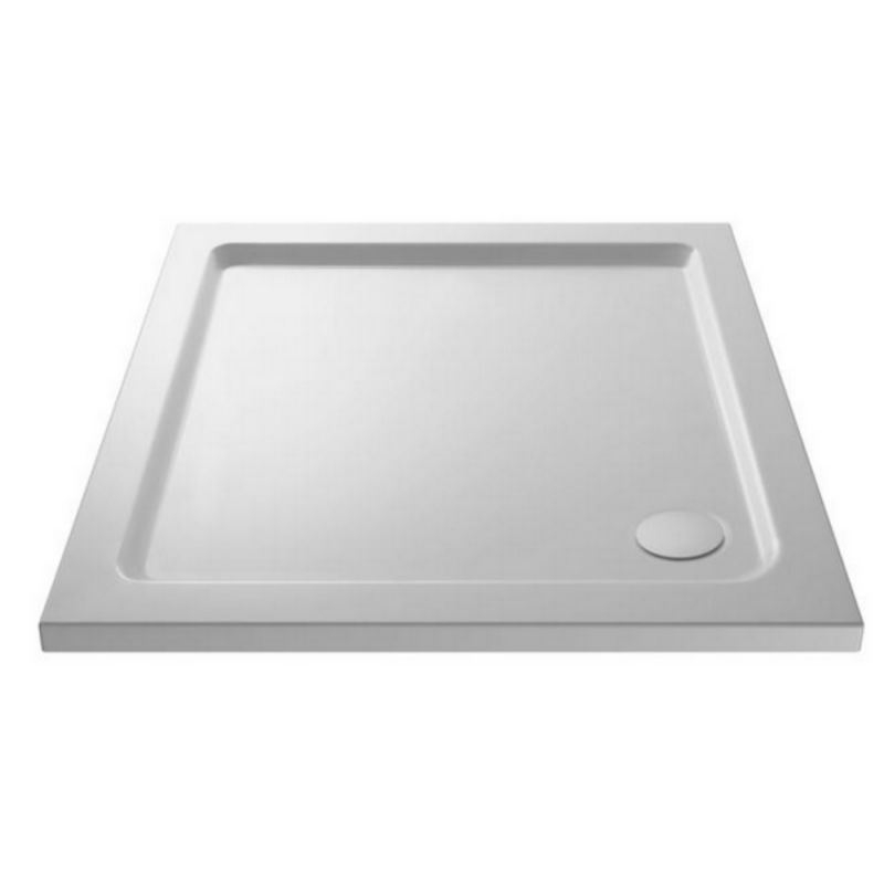 image for NTP003 Ultra Pearlstone 760 X 760mm Square Low Profile Shower Tray