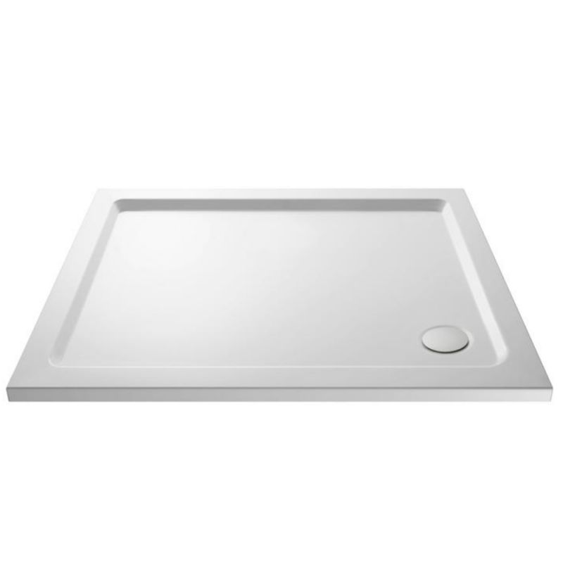 image for NTP012 Ultra Pearlstone 1000 X 760mm Rectangular Low Profile Shower Tray