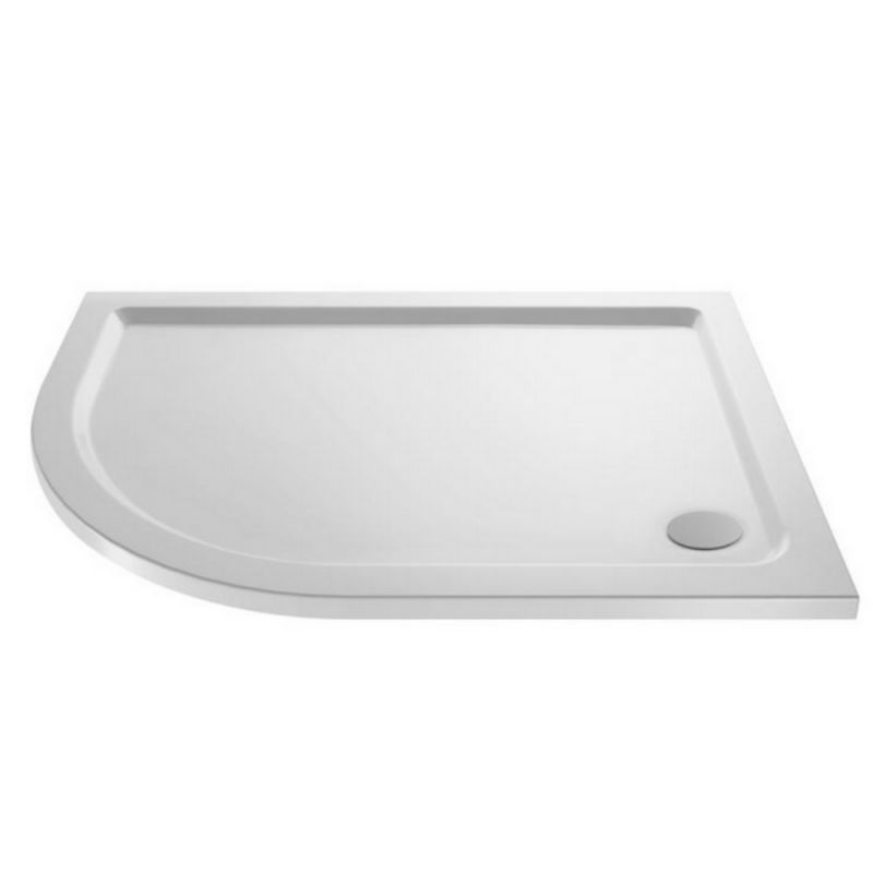 image for NTP103 Ultra Pearlstone 900 X 800mm Offset Quadrant Shower Tray Left Hand