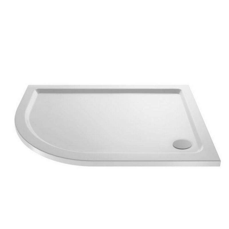 image for NTP112 Ultra Pearlstone 1200 X 800mm Offset Quadrant Shower Tray Left Hand