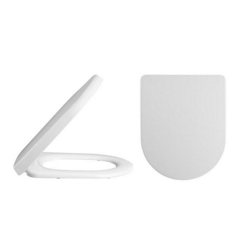 image for NTS007 Premier Luxury D Shape Quick Release Soft Close Toilet Seat