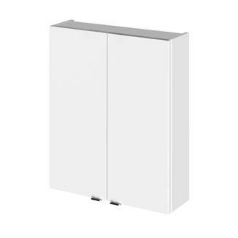 image for OFF155 Hudson Reed 500mm Wall Mounted Cupboard Unit Gloss White