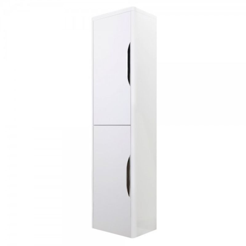 image for PMP163 Premier Parade White Gloss 350mm Wall Mounted Storage Unit