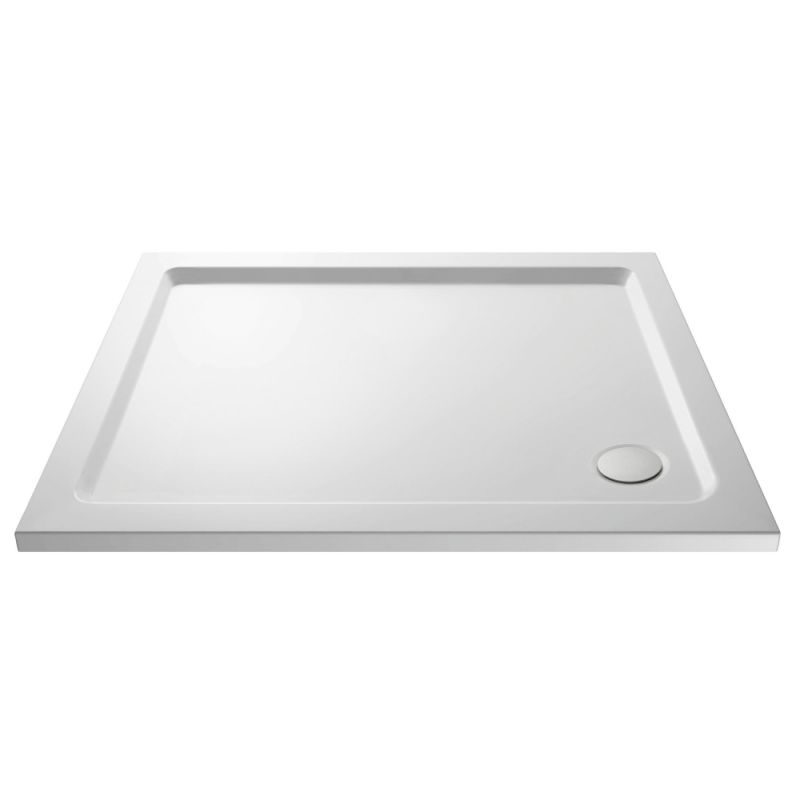 image for PST126 Hudson Reed Pearlstone 1100 X 700mm Slimline Rectangular Shower Tray