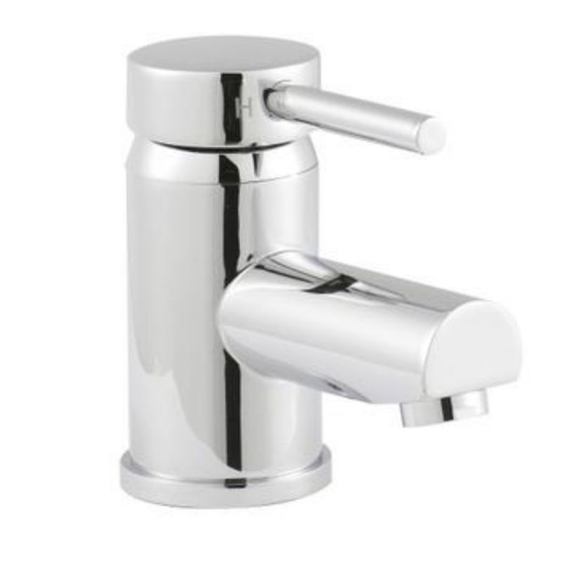image for QUE305 Ultra Quest Mono Basin Mixer Tap With Push Button Waste