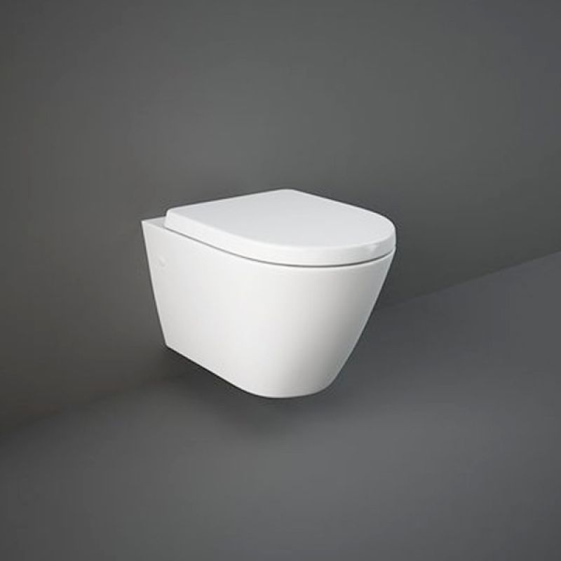 image for RSTWHPAN-SC Rak Resort Wall Hung Toilet With Soft Close Seat