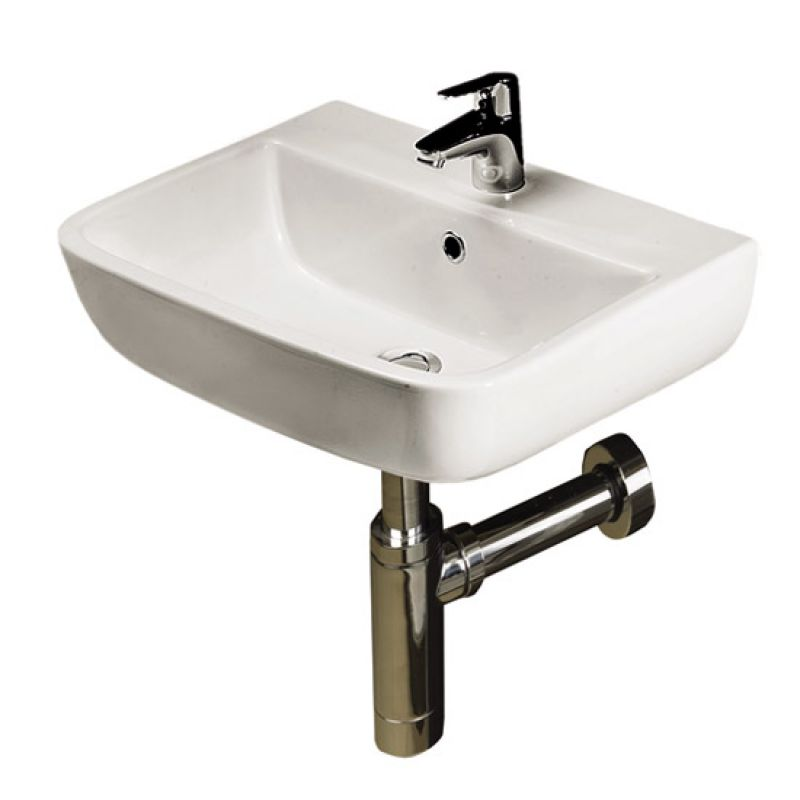 image for S60040BAS1 Rak Series 600 Wall Mounted 400mm 1th Basin