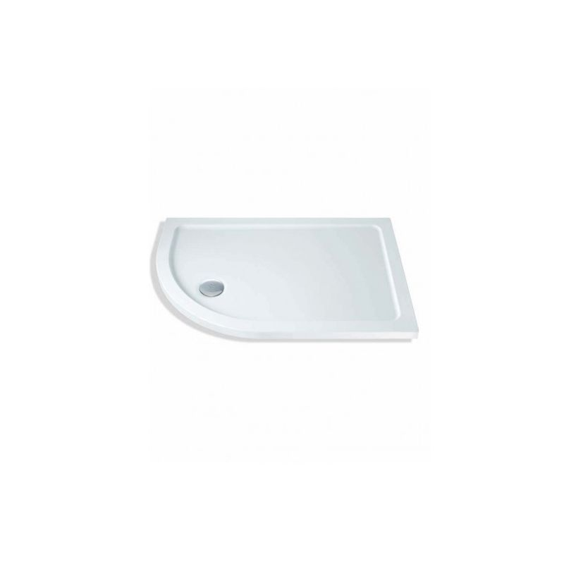 image for TN1 Mx Elements Tn1 900 X 760 Offset Quadrant Shower Tray Left Handed