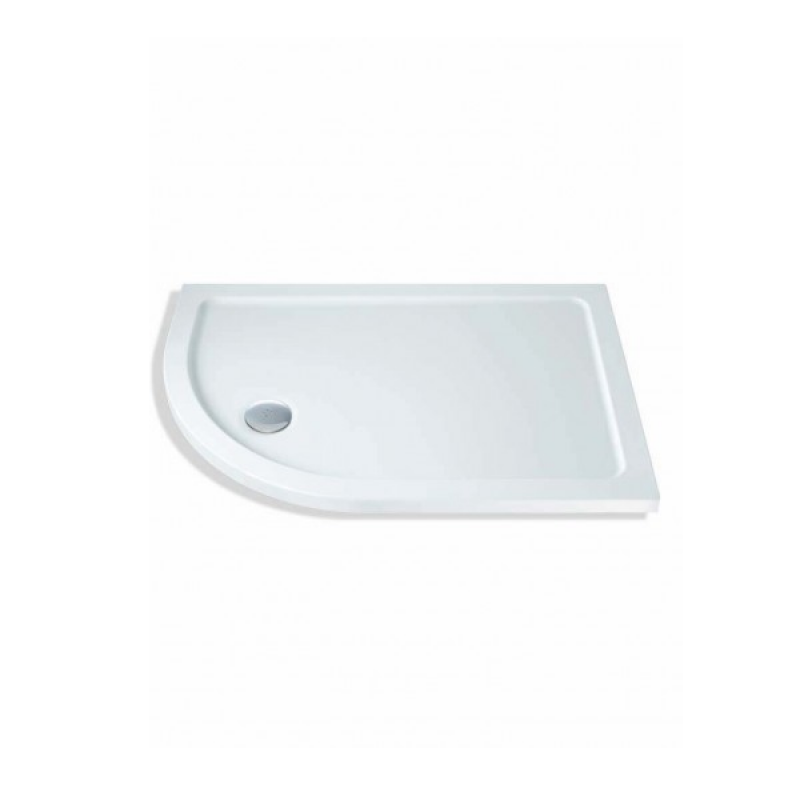image for TOS Mx Elements 1000 X 800mm Offset Quadrant Shower Tray Tos Left Handed