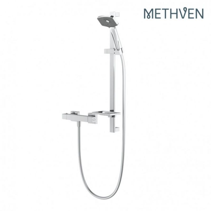 image for WCTS Methven Satinjet Waipori Cool To Touch Bar Exposed Shower With 1 Outlet
