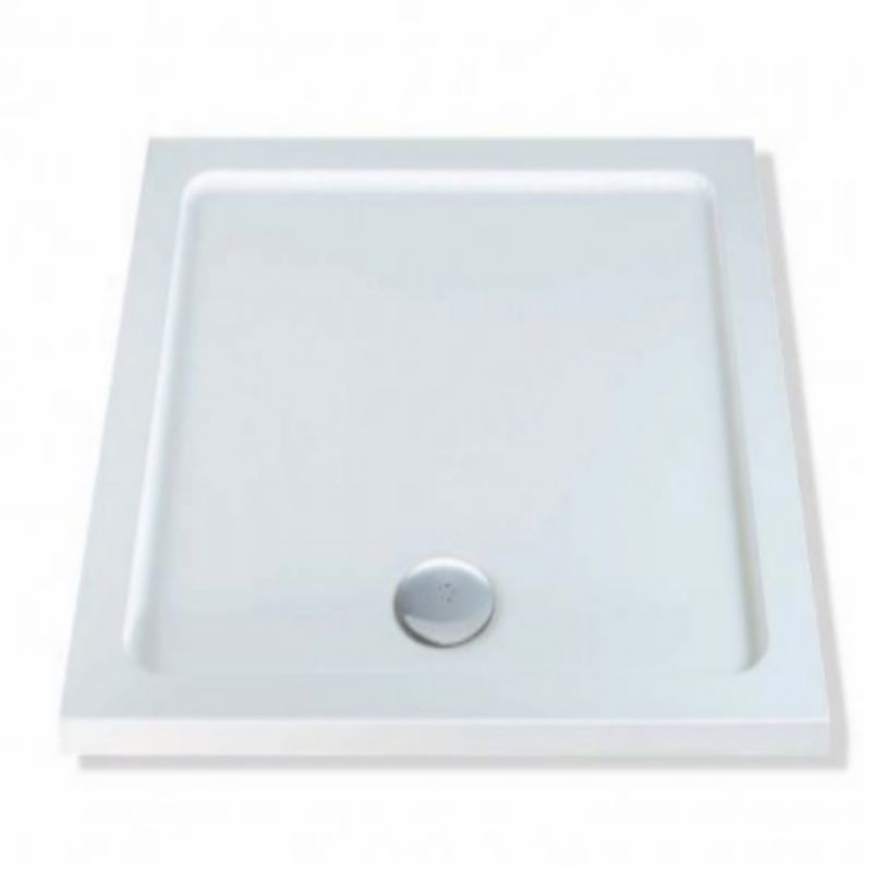 image for XP1 Mx Durastone 700 X 700mm Square Shower Tray