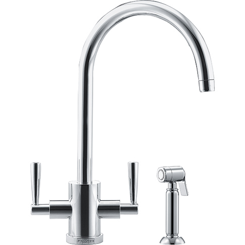 Franke Olympus Side Spray Kitchen Tap  Chrome