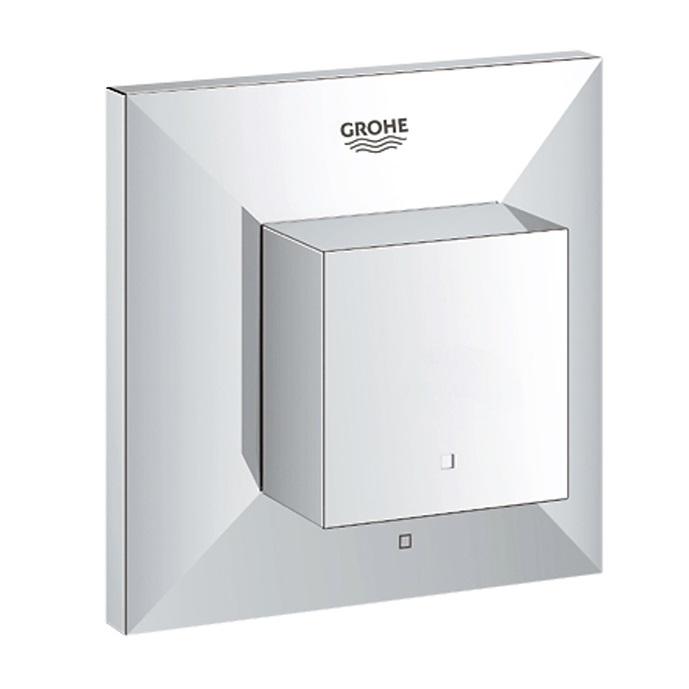 An image of Grohe Spa Allure Brilliant Chrome Concealed On Off Trimset