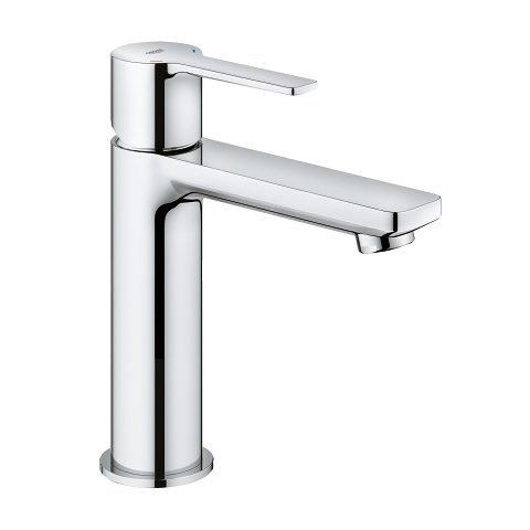 An image of Grohe Lineare Deck Mounted Basin Tap Chrome  S-Size