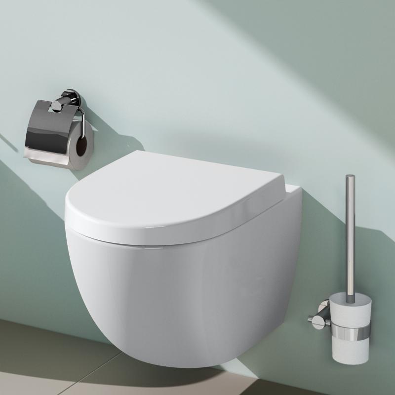 Vitra Sento Wall Hung WC Toilet Pan