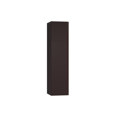 An image of Vitra Istanbul Tall Burgundy Left Handed Wall Mounted Storage Unit